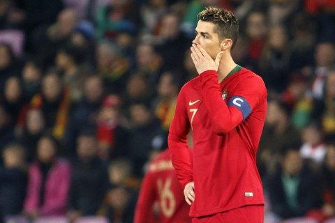 Роналду вперше з 2016 року не завдав жодного удару впродовж матчу