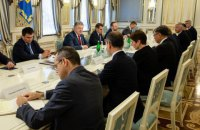 Порошенко обговорив з послами G7 запуск Антикорупційного суду та звільнення українських заручників у Росії