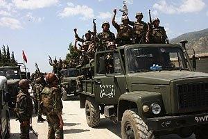 Сирия перемещает запасы химического оружия