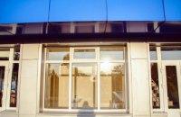 В Николаеве на Центральном стадионе оборудовали санузел с прозрачными окнами