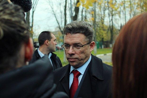 Новоизбранный мэр Химок Олег Шахов