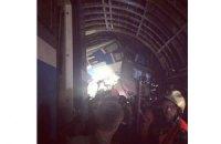 В аварии в московском метро пострадала гражданка Украины