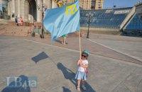 В Бахчисарае с применением силы задержали восемь крымских татар (обновлено)