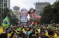 В Бразилии более 3 млн человек вышли на демонстрации против президента