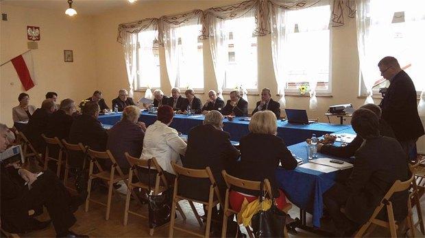 Депутати однієї з гмін під час засідання