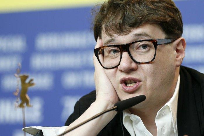 Российский режиссер Илья Хржановский на пресс-конференции во время Berlinale, где он презентовал 'DAU. Наташа', Берлин, 26 февраля 2020.