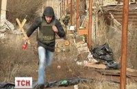 Журналисты ТСН попали под обстрел в Широкино