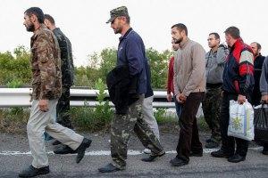 Из плена боевиков освобождены пять украинских военных
