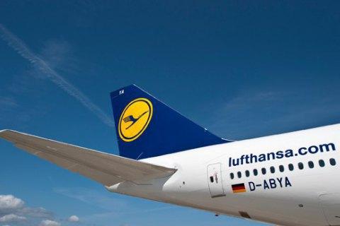 Lufthansa скасувала частину рейсів до Росії