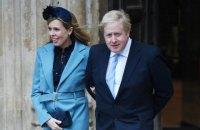 Борис Джонсон одружився зі своєю нареченою на приватній церемонії