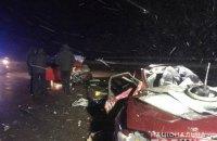 На трасі Київ-Харків-Довжанський у ДТП з двома легковиками загинули п'ятеро людей