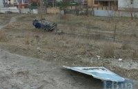 Lexus снес остановку на Богатырской улице в Киеве, убив человека