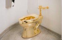 Золотий унітаз украли з виставки у Великій Британії