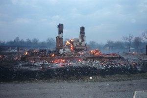 В Черниговской области сгорели 16 зданий