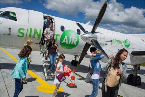 На український ринок виходить польська авіакомпанія SprintAir