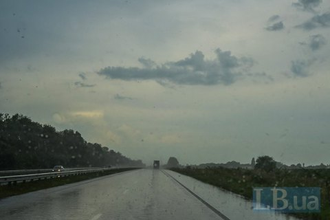В воскресенье в Киеве дождь, +11...+13