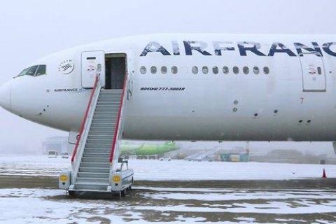 """У російському Іркутську зламалися два """"Боїнги"""" авіакомпанії Air France"""