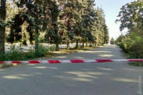 Полиция закрыла вход на Куликово поле в Одессе до утра
