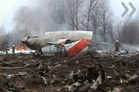 У Польщі заявили, що пошкодження крила літака Качинського мають ознаки вибуху