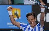 Бердых впервые вышел в полуфинал Australian Open
