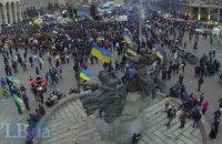 На Майдан приехали львовские милиционеры