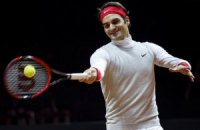 Федерер провел первую тренировку перед Кубком Дэвиса