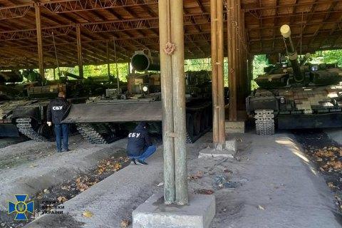 СБУ викрила корупційні схеми при ремонті української бронетехніки