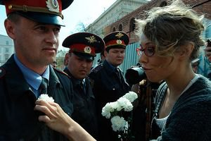 "Московська поліція затримала Навального і Собчак на ""гуляннях"""