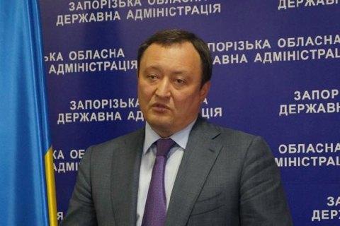 Запорізький губернатор пообіцяв привести до ладу головні дороги до 2018 року