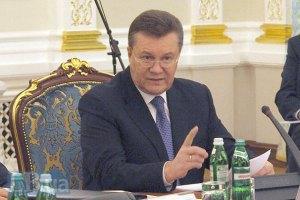 Президент: силовики в Києві діють за законом