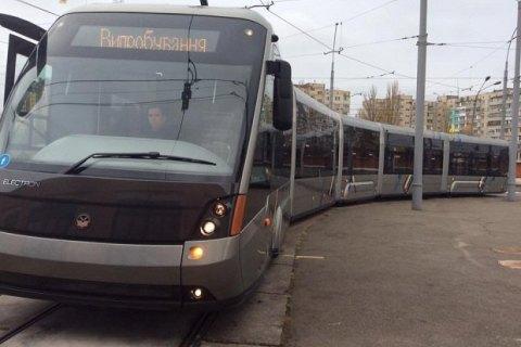 Для Києва закупили ще сім новітніх трамваїв «Електрон». Краса— очей не відвести