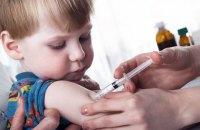 ЦГЗ заявив про погані темпи планової імунізації дітей