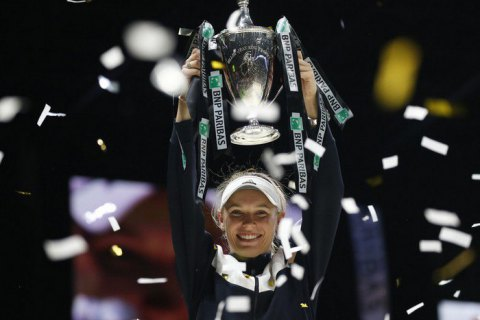 Датская теннисистка Возняцки выиграла итоговый турнир WTA