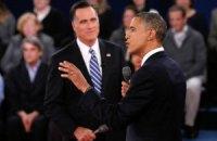 Обама переміг Ромні на фінальних дебатах