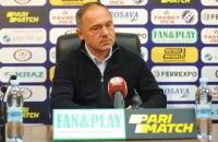 Уволен еще один главный тренер клуба Украинской Премьер-лиги