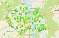 В Киеве запустили онлайн-карту по аренде коммунального имущества