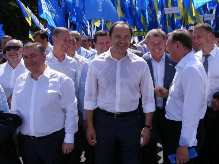 антифашистский марш,партия регионов