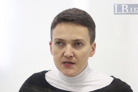 Савченко поест, чтобы пройти полиграф— юрист