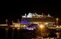 Подозрение на коронавирус у пассажиров итальянского круизного лайнера не подтвердилось