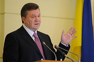Янукович отдал сиротам десятину от дохода за прошлый год