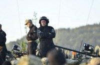 Українська рота бере участь у навчаннях НАТО у складі механізованого батальйону США