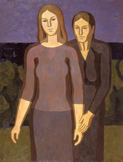 Григорий Гавриленко. Две женщины в природе. 1965-1966 гг