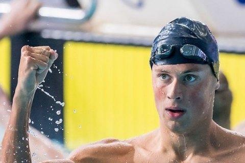 Український плавець Михайло Романчук встановив олімпійський рекорд