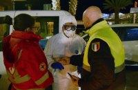 В Італії кількість заражених коронавірусною інфекцією сягнула 650, померли ще 3 людини