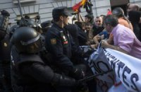 В Мадриде противники монархии подрались с полицией
