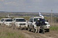 Боевики останавливали для обыска патруль ОБСЕ вблизи Дебальцево