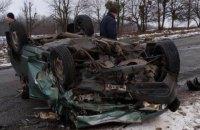 """У Вінницькій області """"євробляха"""" протаранила """"дев'ятку"""". Загинули двоє дорослих і дитина"""
