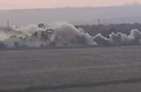 В интернете выложили видео обстрела боевиками села Пески