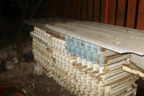 У жителя Київської області знайшли п'ять тонн радіоактивного металобрухту