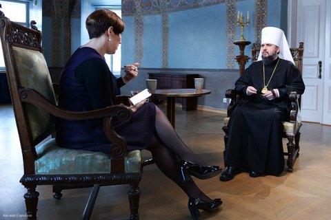 Епифаний рассказал, как на Соборе разделились голоса между ним и луцким митрополитом Михаилом